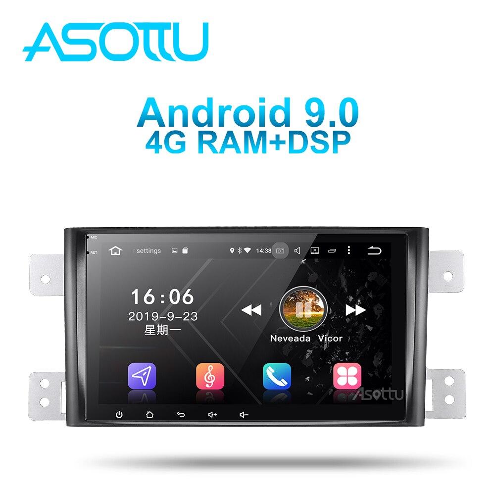 Asottu SU601 Android 9.0 PX6 voiture dvd pour Suzuki Grand Vitara 2005-2012 multimédia headunit GPS Radio lecteur gps stéréo