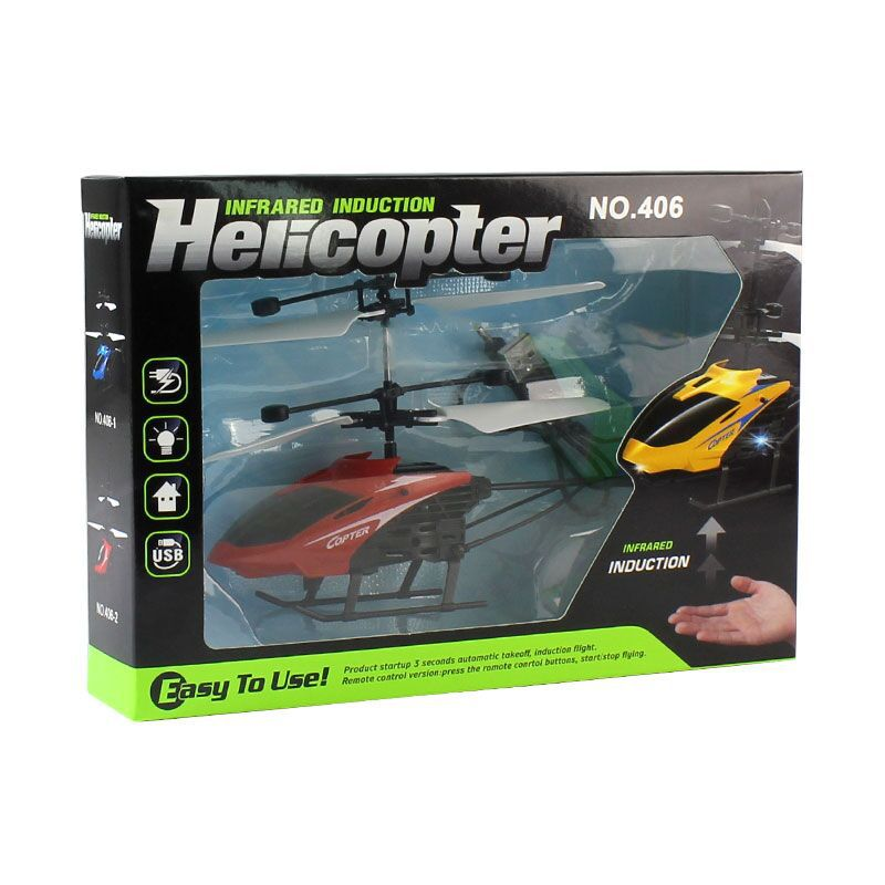 Phyllis Good D715 Helicopter Sensing Airplane Three Seconds Start Compatible Remote Control Drop-resistant Rechargeable Hot Sell