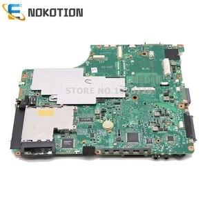 Image 2 - NOKOTION V000125160 6050A2171301 MB A02 Für Toshiba Satellite A300 A305 Laptop motherboard 965PM DDR2 mit grafiken slot IDE DVD