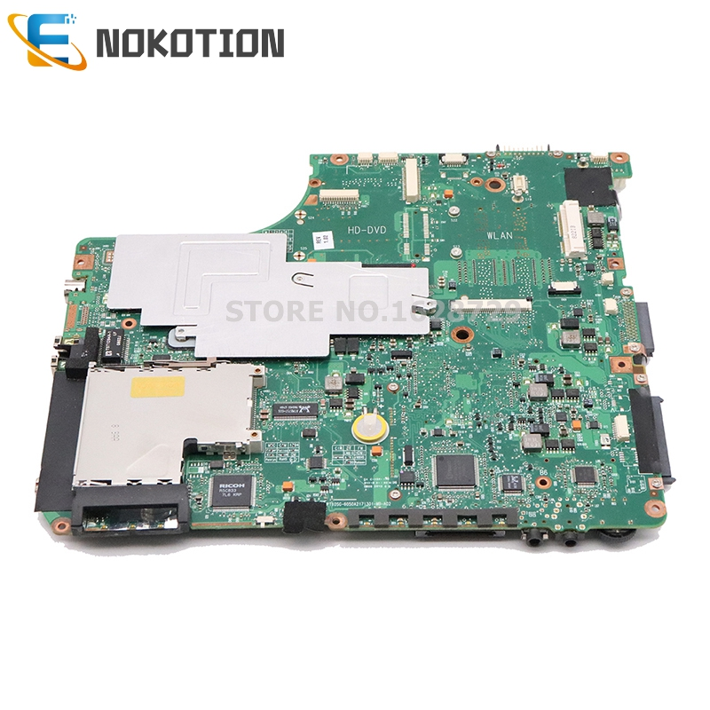 Image 2 - NOKOTION V000125160 6050A2171301 MB A02 For Toshiba Satellite  A300 A305 Laptop motherboard 965PM DDR2 with graphics slot IDE  DVDLaptop Motherboard