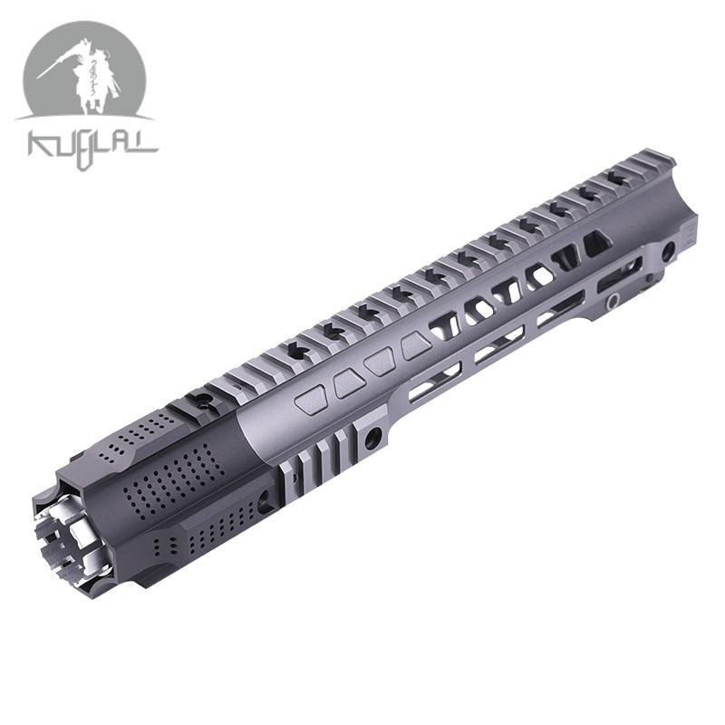 JAILBREAK Aluminum Hard Coat Anodized 12'' 14'' Airsoft Handguard Tactical Rail For AEG Gel Blaster