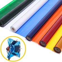 """Profesyonel 40*50cm 15.7*19.6 """"kağıt jeller renk filtresi sahne aydınlatma için kızılötesi ışık"""