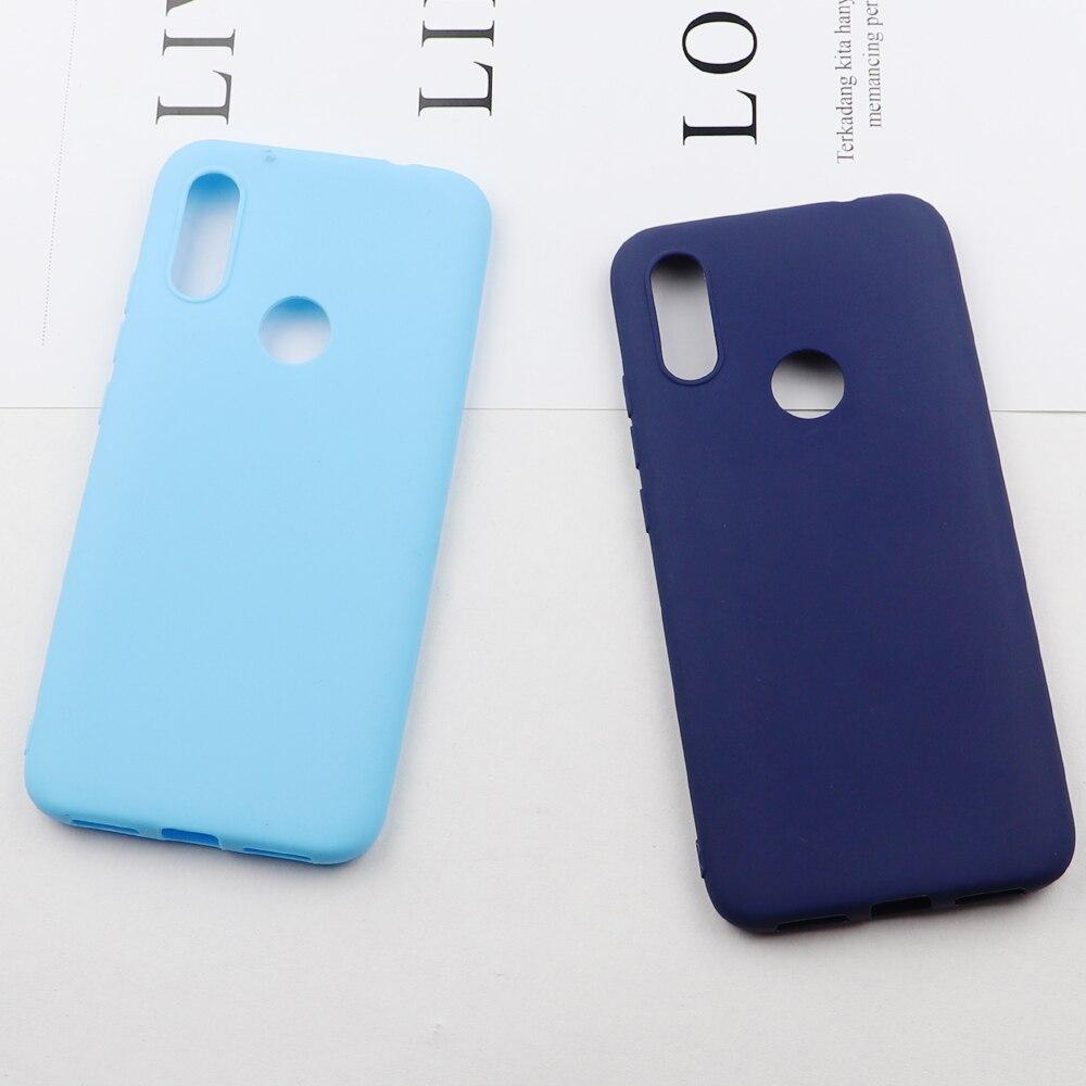 For Xiaomi Redmi 7 Silicone TPU Soft Phone Matte Back Case Cover Coque Funda For Xiaomi Redmi 7