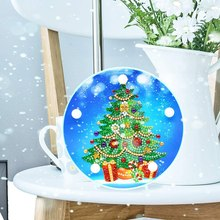 Top-DIY 5D Diamond Painting Christmas Tree By Number Kits Painting Cross Stitch Full Drill Crystal Rhinestone Embroidery Arts Cr(China)