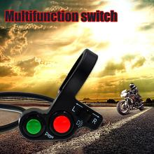 Motorcycle Handlebar Switch Electric Bike Scooter Horn Turn Signals On/Off Button Light Switch