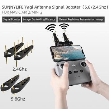 DJI Mini 2 antena Yagi 5 8Ghz 2 4 Ghz kontroler wzmacniacz sygnału przedłużacz zasięgu dla DJI AIR 2S Mavic Air 2 DJI Mini 2 Drone tanie i dobre opinie SUNNYLIFE CN (pochodzenie) DJI Mini 2 Yagi 2Pcs Antenna Yagi 2Pcs Antenna FOR Mavic Air 2 DJI Mini 2 Drone Signal Booster For Mavic Air 2 DJI Mini 2 Drone