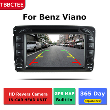цена на Android Car GPS Navigation For Mercedes Benz Viano 2004~2007 Car dvd player BT RDS Mlutimedia player Navi 2Din WiFi