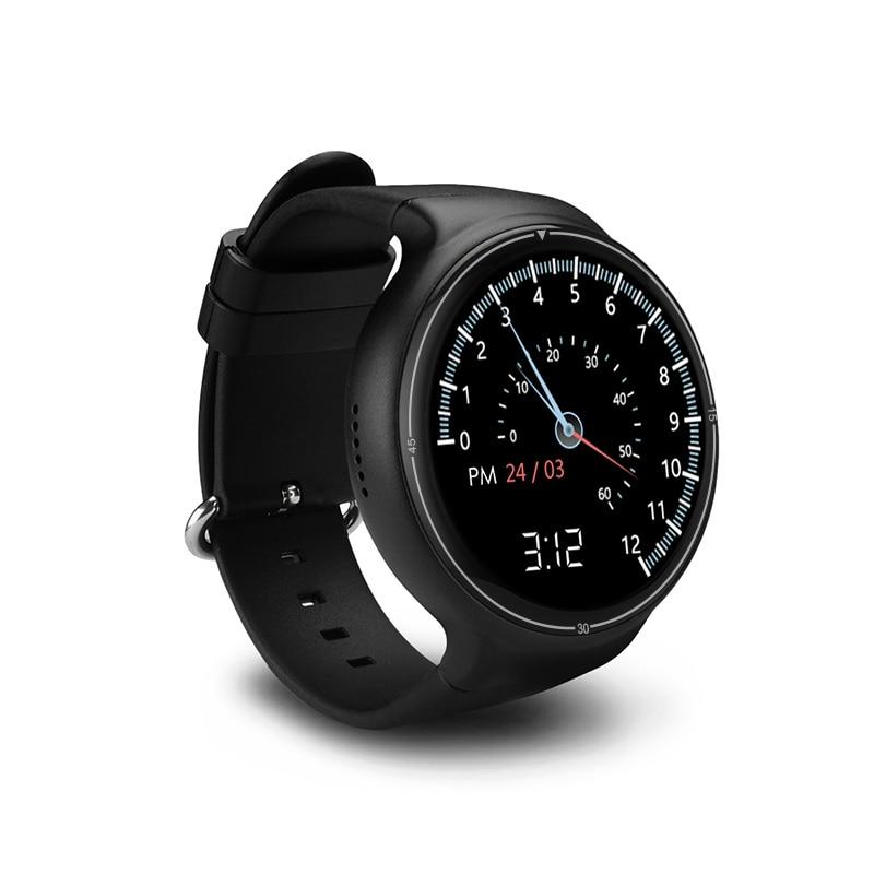 2018 Bluetooth Intelligente Orologio I4 Pro Android 5.1 RAM 2GB ROM 16GB Smartwatch GPS WiFi Nano SIM card 3G relogio Orologio Da Polso Da uomo - 2