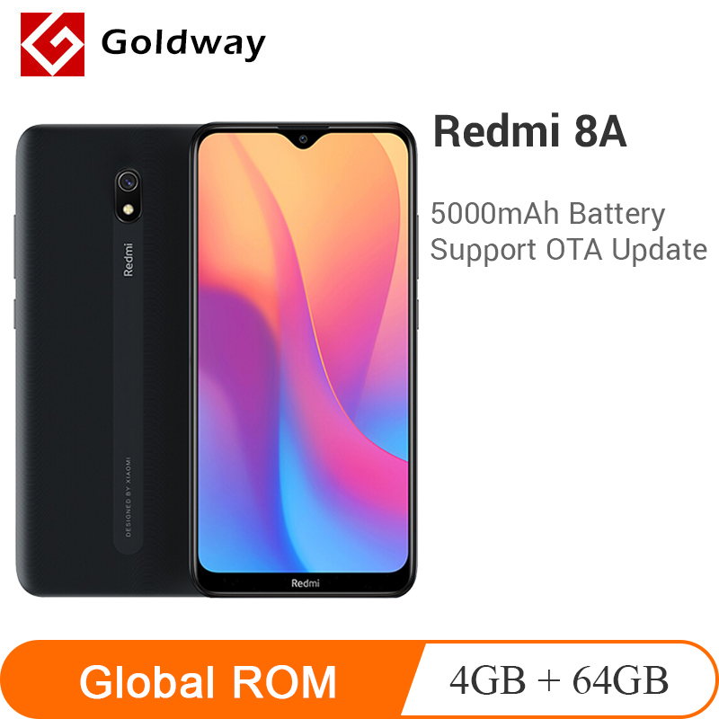 "Original Xiaomi Redmi 8A 8 A 4GB RAM 64GB ROM Mobile Phone Snapdragon 439 Octa Core 6.22"" 5000mAh 12MP Camera Smartphone(Hong Kong,China)"
