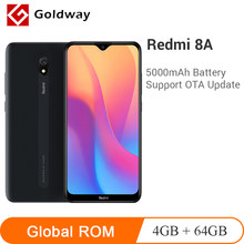 Original xiaomi redmi 8a 8 a 4gb ram 64gb rom telefone móvel snapdragon 439 octa núcleo 6.22