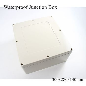 300x280x140mm Waterproof Plastic Enclosure Box Outdoor Cable Connection Junction Electrical Project Case ABS IP65 300*280*140mm