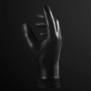 Image 4 - New Youpin Qimian Lambskin Touch Screen Finger Gloves Waterproof Spanish Raw Soft Leather Warm Winter For Women Man Drive