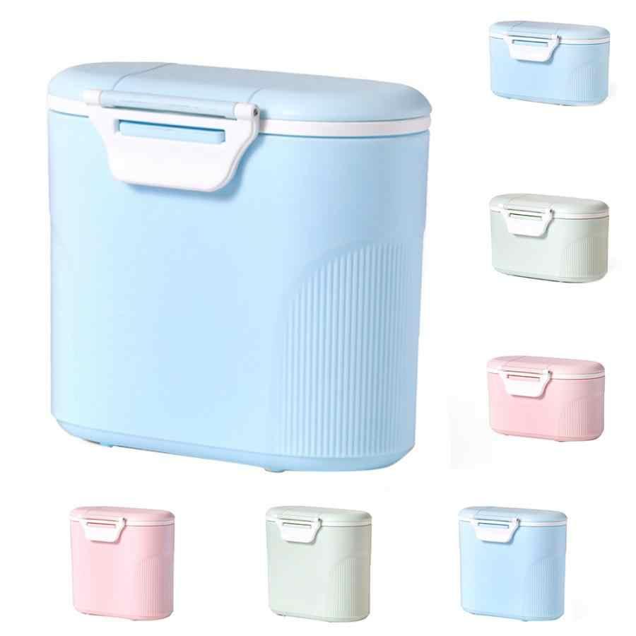Storage Feeding Box Infant Formula Dispenser Food Container Baby Milk Powder Pot