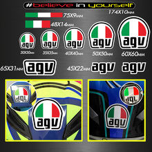 Motorcycle helmet stickers can be pasted arc special stickers suitable for agv K1 k3 K5-S modified helmet