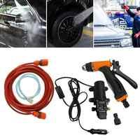 Kit de sistema de bomba de alta presión para lavadora de coche, 12V, 130PSI, uso doméstico o en coche