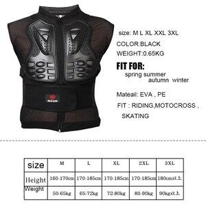 Image 5 - Moto armadura proteção corporal para motociclista, equipamento de proteção para o corpo, armadura protetora de coluna, peito, para senhoras e homens