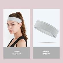 Нескользящие спортивные повязки на голову для женщин и мужчин