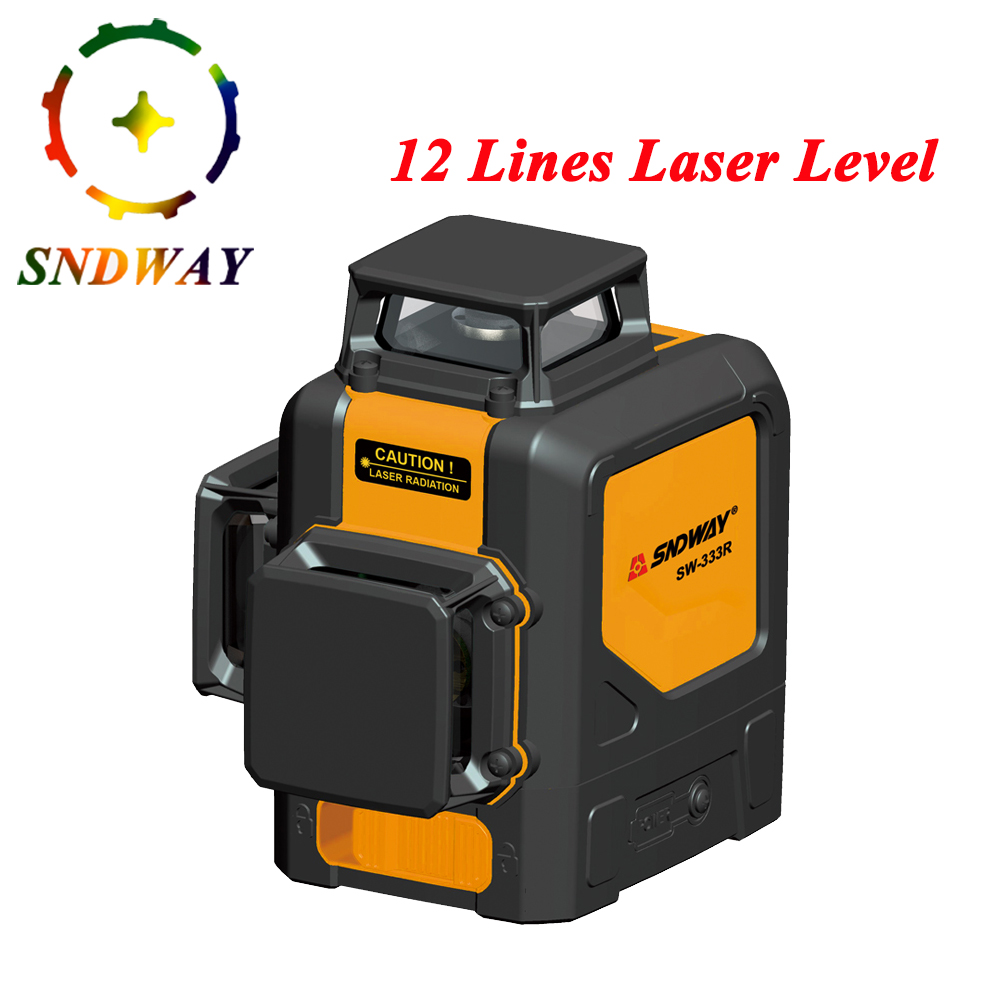 12 lines Laser Level Red Green Beam 8 lines 2 lines Vertical and Horizontal 3D Automatic