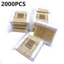 2000PCS Women Beauty Makeup Cotton Swab Double Head Cotton Buds Make Up Wood Sticks Nose Ears Cleaning Tools Dropshipping