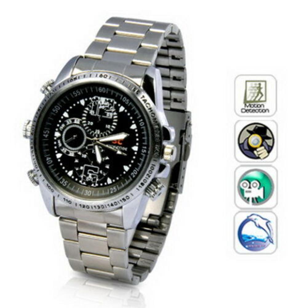 Wrist Watch DV 8G Video 1280x960 Hidden Camera DVR Camcorder Video Recorder 1080P HD 1080P HD Watch Camcorder Hidden Camera