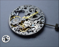 Skeleton Hollow 17 jewelry Manual Winding Mechanical Movement For Seagull st3620k 6498 Watch Repair Replacement Tool Parts