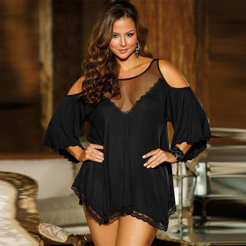 Women's Pajamas Plus Size Sleepwear Sexy Night Suits Spaghetti Strap L Jyards