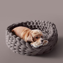 Cotton Large Pet Dogs Cats Bed Soft Warm Knitting Kennel Mat Puppy Cushion House  - buy with discount
