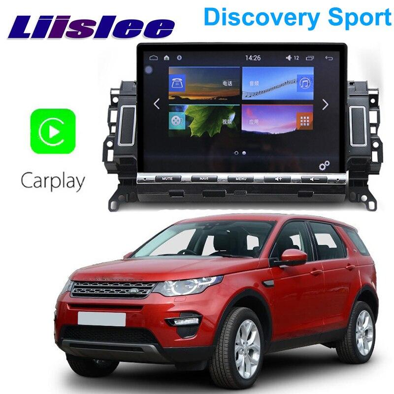 Liislee автомобильный мультимедийный плеер NAVI для Land Rover Discovery Sport L550 2014 ~ 2020 Android ISP автомобильное радио стерео GPS навигация