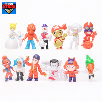 Hot sale brawl stars toy peluche brawl stars kids Decoration collection toys for children Christmas gifts birthday gift frozen aisha queen children s birthday party christmas props decoration set kids toy for children gift