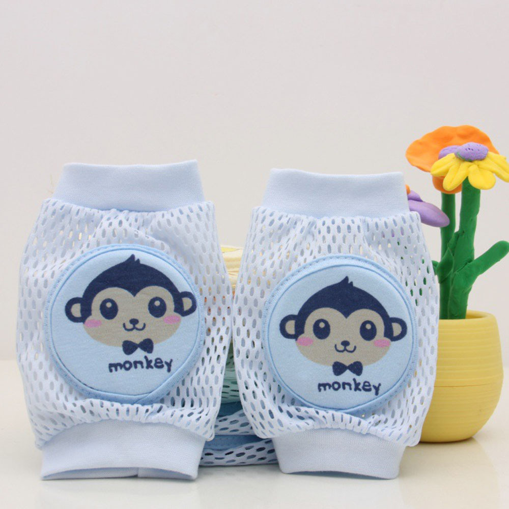 Toddlers Baby Cartoon Safety Crawling Elbow Cushion Knee Pads Protective Gear