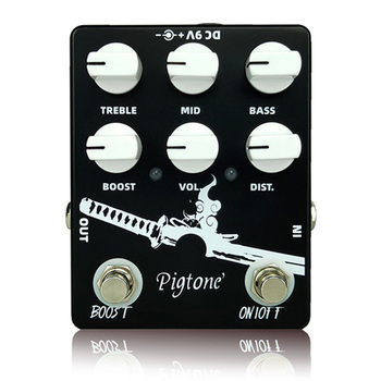 цена на Pigtone PP-11 Heavy Metal Guitar effect pedal acoustic electric guitar accessories effects pedals Real bypass