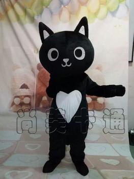 Kot kostium maskotka maskotki kostium dla dorosłych rozmiar postać z kreskówki śmieszne maskotki karnawał charakter kostium Cosplay stroje tanie i dobre opinie Kostiumy