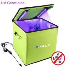 Puluz luz uv esterilizador germicida desinfecção tenda caixa para o telefone móvel tablet caixa de armazenamento esterilizador