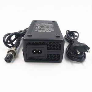 Image 2 - Cargador de batería de iones de litio de 48V, salida de 54,6 V, 3A para bicicleta eléctrica de 48V, paquete de batería de litio, conector hembra de 3 pines, GX16 XLR 3 Socket