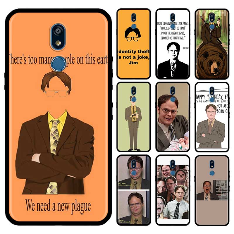 Best Of Dwight Schrute Case For LG G6 G7 G8 Thinq K40 K40s Q51 Q60 Q61 Q70 K41s K50s K51s K61 Tpu Phone Carcasa Capas