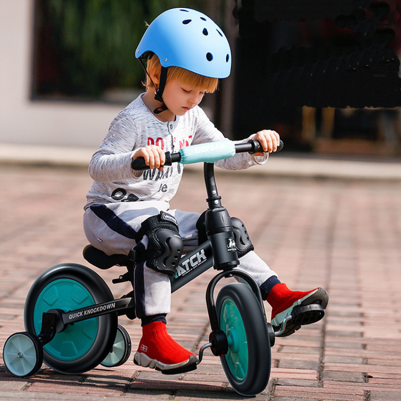 Multifunction 2 in 1 Kids Tricycle + Balance Bike Bicycle For 2~6 Ages Child Toddler Complete Cycling Bike Learn to Ride 5