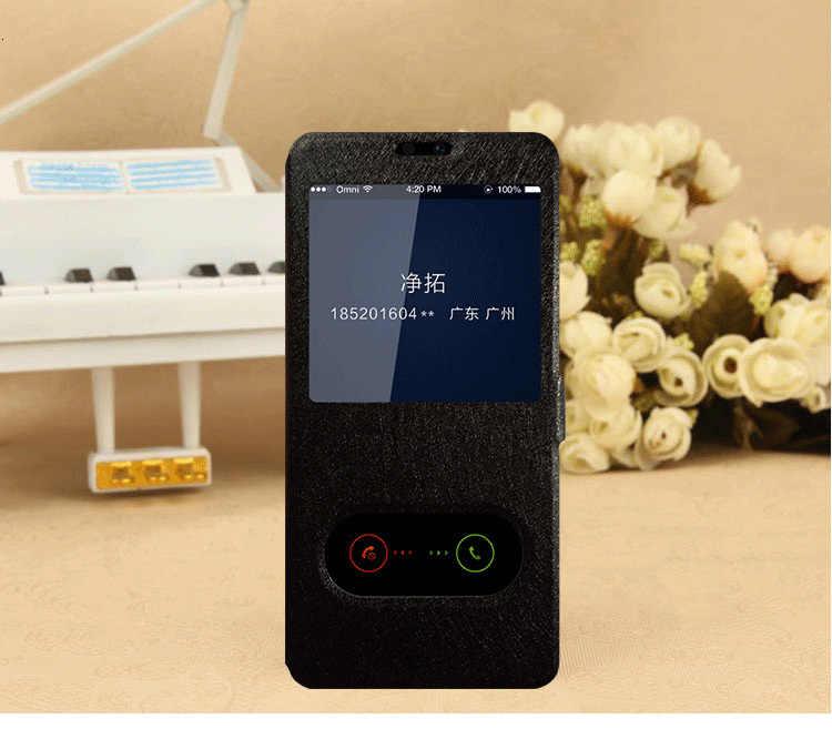 Pour Huawei Honor 20 étui réponse rapide fenêtre en cuir Flip étui pour Huawei Honor 20 Pro Coque de couverture de téléphone pour Honor20 20pro