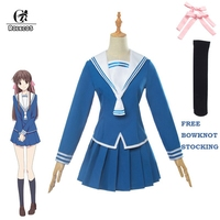 ROLECOS Fruits Basket Tooru Honda Cosplay Costume Anime Cosplay Girl School Uniform Women Sailor Costume
