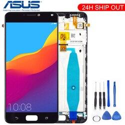 Tela original 5.5 '', para asus zenfone 4 max zc554kl lcd touch screen zc554kl lcd x001d digitador, peças de reposição