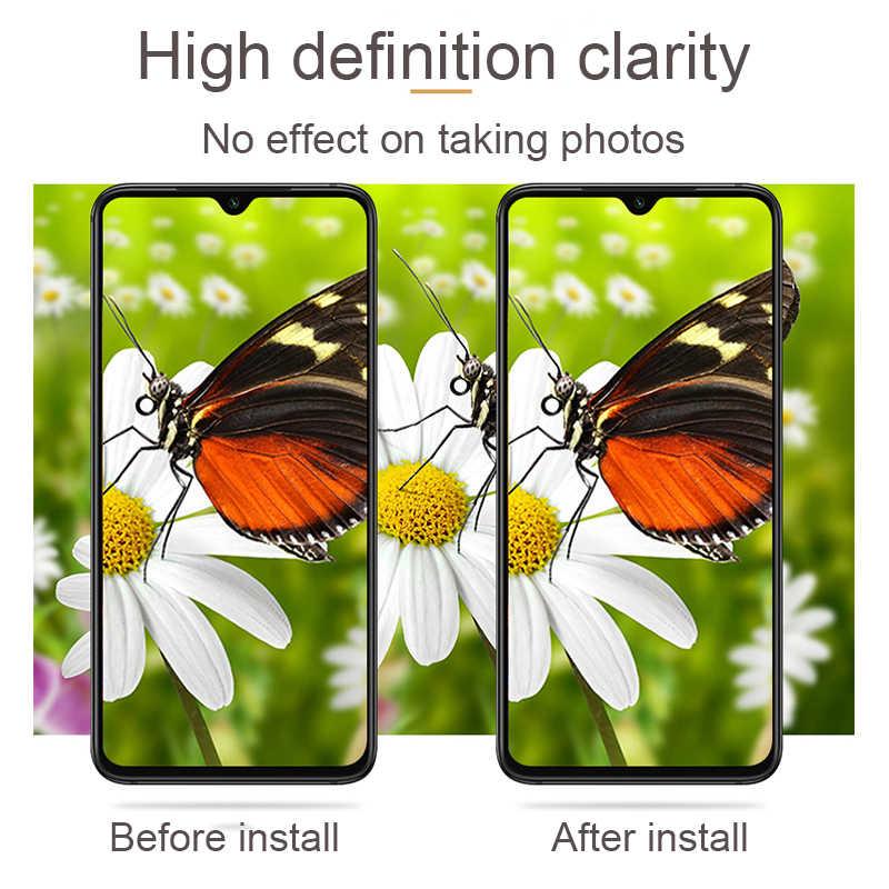2 · イン · 1 強化ガラス Xiaomi Redmi 注 7 プロ 7A Xiomi のためスクリーンプロテクター Redmi 注 6 保護フィルム & レンズカメラケース