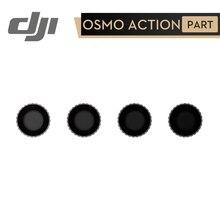 DJI אוסמו פעולה ND מסנן ערכת DJI אוסמו פעולה ND 4/8/16/32 מסנני סט מכוסה עם אנטי טביעות אצבע ציפוי DJI מקורי חלקי