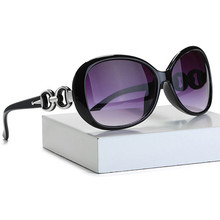 2019 New Sunglasses Women Plastic frame Black Red Yellow Purple Gradient color lenses Fashion