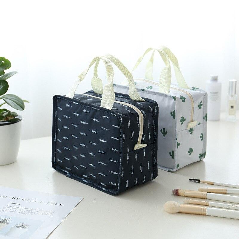 Портативный дорожный туалетный мешок наборы печать косметичка модная женская косметичка-органайзер водонепроницаемые Косметические