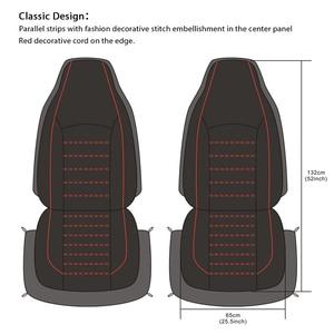 Image 5 - AUTOYOUTH ด้านหน้ารถที่นั่งครอบคลุมแฟชั่นสไตล์กลับถังรถยนต์ Auto ภายในรถที่นั่ง Protector 2PCS สำหรับ Toyota