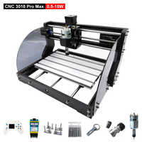 CNC 3018 Pro Max Laser Engraver Machine 0.5W-15W 3 Axis Milling DIY Wood Routers Laser Engraving Cutting With Offline Controller