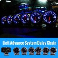 Difi Advance BF Defi Link System zd + 6 gauges Volt Water Temperature Oil Temp Oil Press Rpm Turbo Boost Gauge