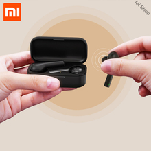 MI Mijia T5 TWS Fingerprint Touch Wireless Headphones Bluetooth 5.0 3D Stereo Dual-Mic Noise Cancelling Earphones With Game Mode