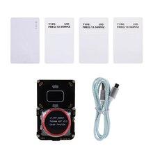 Sıcak Proxmark3 geliştirmek takım kitleri NFC RFID kart okuyucu fotokopi değiştirilebilir kartı MFOC kart klon çatlak açık kaynak