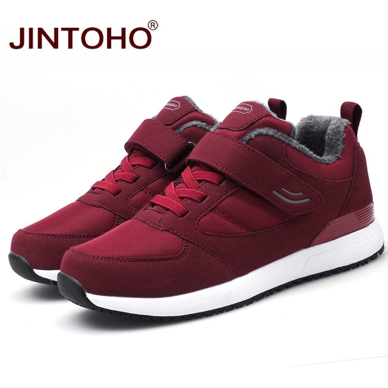 Image 4 - JINTOHO Winter Leather Sneakers Fashion Unisex Leather Shoes Breathable Men Sneakers Casual Male Shoes Men Winter Snow ShoesMens Casual Shoes   -