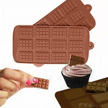 キッチンケーキ型 diy ミニチョコレートブロック 3D シリコーン手紙型ソフトキャンディー冷凍ケーキ装飾ホームサプライヤーツール
